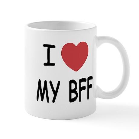 I heart my bff Mug