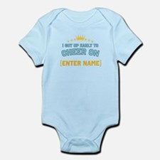 Got up early to cheer... Infant Bodysuit