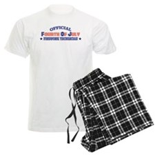 Official Fourth Of July Firework Technician Pajamas