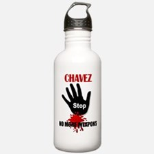 Cute Hugo chavez Water Bottle