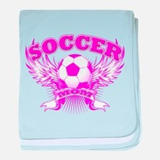 Soccer Mom baby blanket