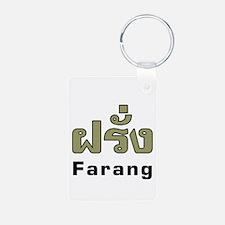 Farang Thai Language Keychains