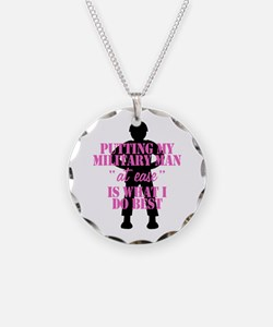 Funny Marine man Necklace