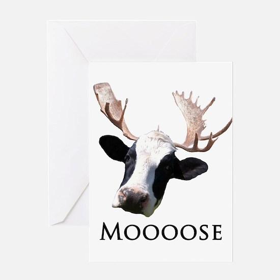 Moooose Greeting Card