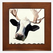 Moooose Framed Tile