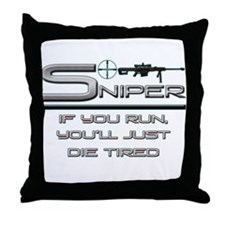 Sniper Throw Pillow