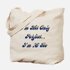 Cute Turning 16 Tote Bag