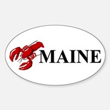 Maine Lobster Sticker (Oval)