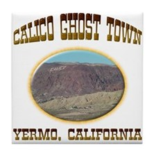 Calico Ghost Town Tile Coaster
