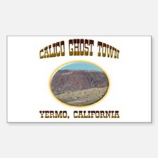 Calico Ghost Town Sticker (Rectangle)