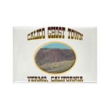 Calico Ghost Town Rectangle Magnet
