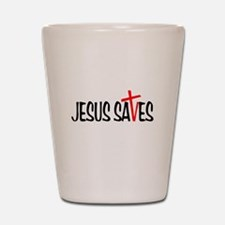 Jesus Saves Shot Glass