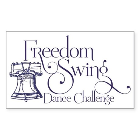 Freedom Swing Sticker