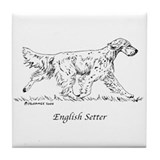 English setter Drink Coasters
