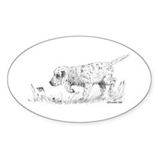 English Setter Puppy Decal