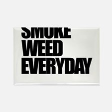 Smoke Weed Everyday Rectangle Magnet