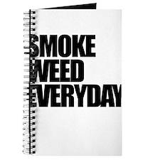 Smoke Weed Everyday Journal