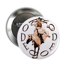 """RODEO BRONC 2.25"""" Button"""