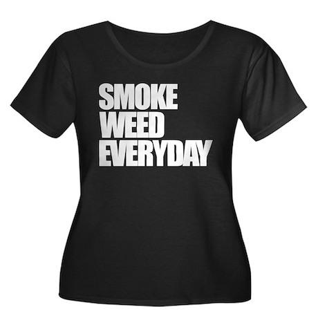 Smoke Weed Everyday Women's Plus Size Scoop Neck D