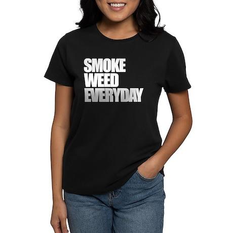 Smoke Weed Everyday Women's Dark T-Shirt