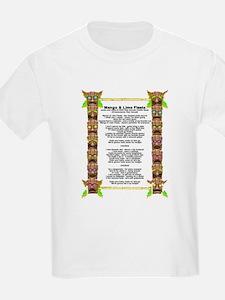 Mango & Lime Fiesta Lyrics Kids T-Shirt