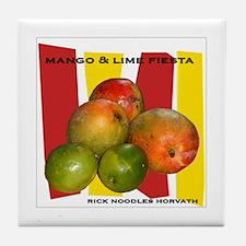 Mango & Lime Fiesta Tile Coaster