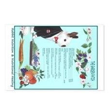 Rabbit Nutrition Postcards (Package of 8)