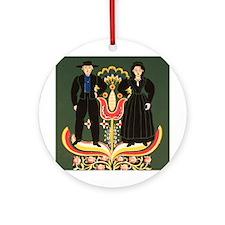 Pennsylvania Dutch Ornament (Round)