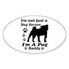 Pug daddy Decal