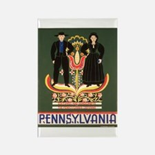 Pennsylvania Dutch Rectangle Magnet