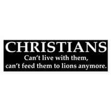 Christians Bumper Sticker