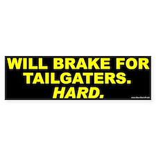 Tailgaters Bumper Bumper Sticker