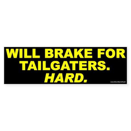 Tailgaters Sticker (Bumper)