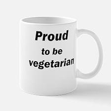 Proud to be vegetarian Mug