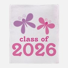 Class of 2026 Throw Blanket