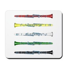 Clarinet Colors Mousepad