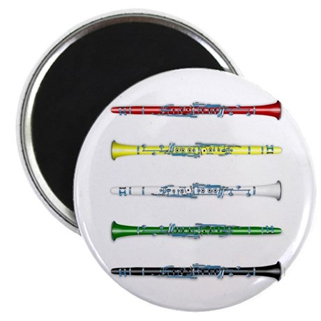 "Clarinet Colors 2.25"" Magnet (100 pack)"