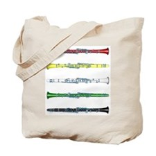 Clarinet Colors Tote Bag