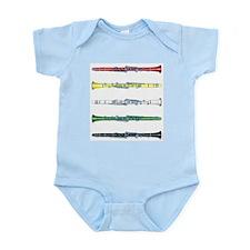 Clarinet Colors Infant Creeper