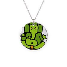 Green Ganesha Necklace