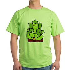 Green Ganesha T-Shirt