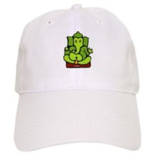Green Ganesha Baseball Cap