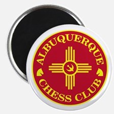 "Albuquerque Chess Club 2.25"" Magnet (100 pack)"