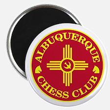 "Albuquerque Chess Club 2.25"" Magnet (10 pack)"