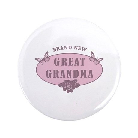"Brand New Great Grandma 3.5"" Button"