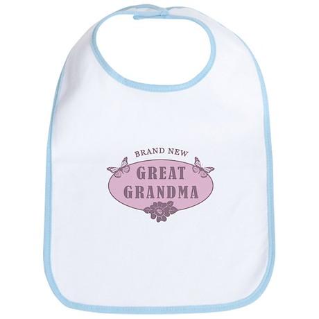 Brand New Great Grandma Bib