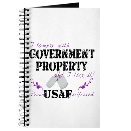 Tamper w Gov Property AF Girlfriend Journal