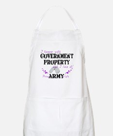 Tamper w Government Property A Wife Apron