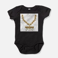 707 Gold Chain Body Suit