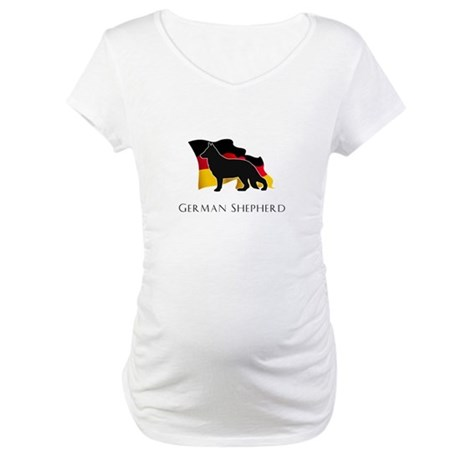 """German"" Shepherd Maternity T-Shirt"